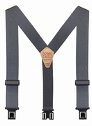 "2"" Grey Original Perry Suspenders - 54"""
