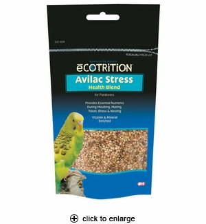 8in1 Ecotrition Avilac Stress Supplement for Parakeets 7 oz.