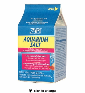 API Aquarium Salt 16 oz.