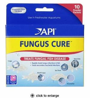 API Fungus Cure Anti-Fungal Fish Medication 10pk
