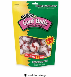Dingo Goof Balls Small Value Bag 15 pk.