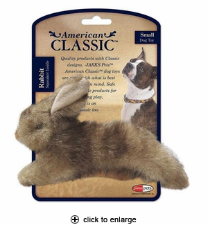 Jakks American Classic Dog Toy Rabbit Small