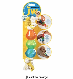 JW Pet Treat Pods Dog Toy Large