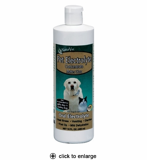 NaturVet Pet Electrolyte Concentrate 16 oz