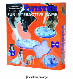 Nina Ottosson Dog Twister Interactive Dog Game Toy