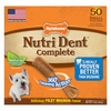 Nylabone Nutri Dent Dental Chews Filet Mignon Small 50ct