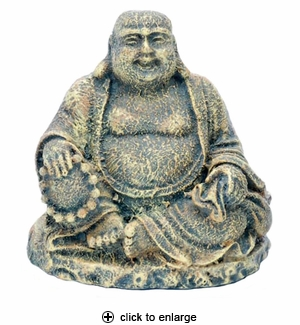 Penn-Plax Sitting Buddha Aquarium Ornament