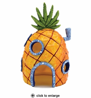 Penn-Plax SpongeBob Pineapple Home Aquarium Ornament