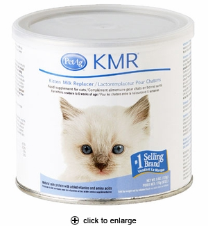 PetAg KMR Kitten Milk Replacer Powder 6 oz