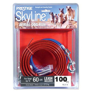 Prestige Skyline Aerial Dog Run 100 ft.