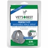 Vet's Best Perfect-Fit Washable Male Dog Wrap SM/MED
