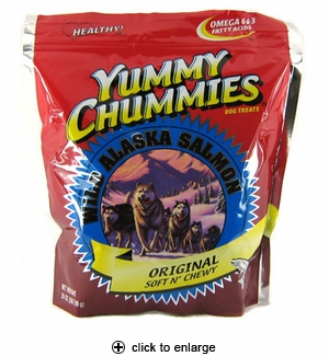 Yummy Chummies Original Wild Alaska Salmon 20 oz.