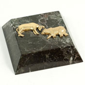 Stock Market Paperweights
