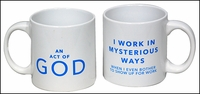 Mysterious Ways Logo Coffee Mug