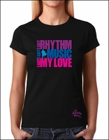 I Got Rhythm Ladies T-Shirt