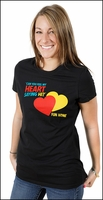 Can You Feel My Heart Ladies T-Shirt