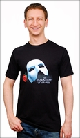 Mask and Rose T-Shirt