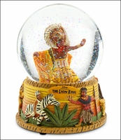 Snowglobe with Music Box