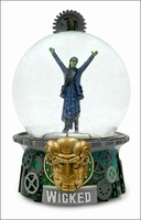 The Wizard and I Musical Glitter Globe