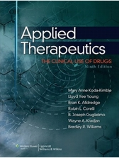 Applied Therapeutics: The Clinical Use of Drugs [9E]