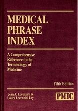 Medical Phrase Index, 5th Edition