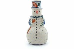 """Candle Holder Snowman 6"""""""
