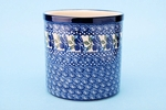 003 ~ Utensil Holder	<br>	1239a ~ Royal Blue	<br>	5.5H x 5.5W