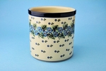 003 ~ Utensil Holder<br>	1394a ~ Periwinkle<br>	5.5H x 5.5W