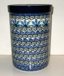 "169 ~ Utensil Holder~Tall ( 8"")	<br> 1061~Ocean Blue"