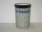 "169 ~ Utensil Holder~Tall ( 8"")	<br>	1073a ~ Blue Violet Vine"