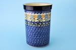 "169 ~ Utensil Holder~Tall ( 8"")	<br>	1370a ~ Sunny Border"