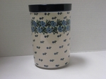 "169 ~ Utensil Holder~Tall ( 8"")	<br>	1394a ~ Periwinkle"