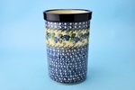 "169 ~ Utensil Holder~Tall ( 8"")	<br>	1416a ~ Blue Berries"