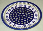"DESSERT PLATE <br> - Country Flower  <Br>	(7.75"")"