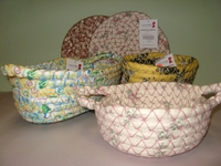 Carrie Belle's Braided Fabric Baskets & Trivets