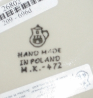 Factory Stamp from CA