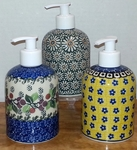 Group of 3 Soap/Lotion Dispensers<BR> SAVE 10%<BR>Mixed, as shown