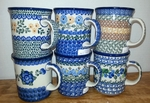 Group of 6 Mugs <BR> Mixed Patterns, as shown <BR> SAVE 10%