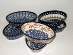 "Group of 6 Tiny Oval Bakers <BR> (6""x4"")<BR> SAVE 20%"