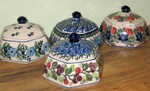 Hexagonal Jewelry Boxes<Br> Group of 4 <BR>SAVE 20% <BR> Various Patterns