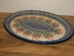 LARGE OVAL PLATTER (CA)