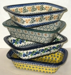 Set of 4 Loaf Bakers <BR> Save 10% <br> PATTERNS MAY VARY