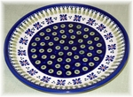 "DINNER PLATE<br> Country Flower""  <Br> (10.5"")"