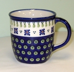 "MUG (12oz)  <br>- Country Flower <Br>  (4"")"