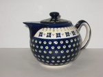 SMALL TEAPOT <BR> Country Flower <br> (3 Cups)