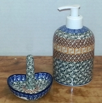 Soap/Lotion Dispenser & Ring Holder <BR> SAVE $9 <bR> Autumn