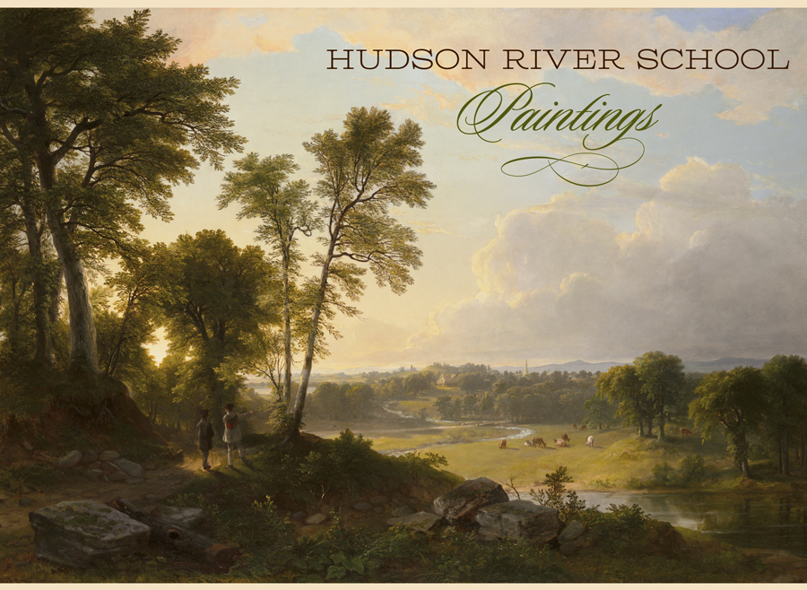 the hudson river school of artist Albany — the mere sight of 83 landscapes by the hudson river school artists, assembled at the albany institute of history & art for the first time in.