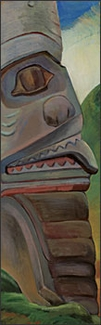 A Skidegate Pole Bookmark