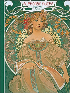 Alphonse Mucha Deluxe Address Book