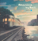 America by Rail 2014 Wall Calendar